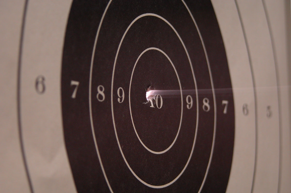 bullet through target 062613